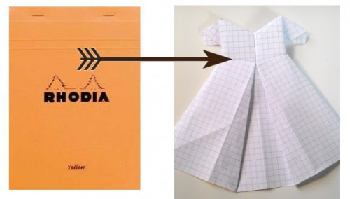 explication origami robe