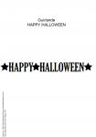 guirlande halloween printable